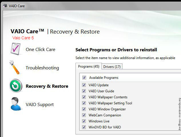 vaio f series clean install guide f11 f12 f13 by joe bleau rh vaiofseries com vaio recovery center user guide vaio recovery center guide
